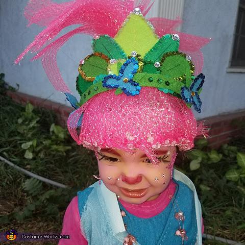 Make up, Poppy Costume