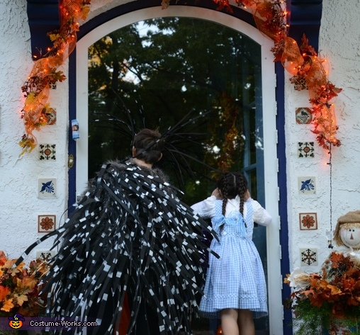 Peeking Inside The Neighbor's House (Trick or Treat), Porcupine Costume