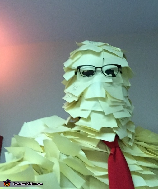 Selfie, Post-It Man Costume