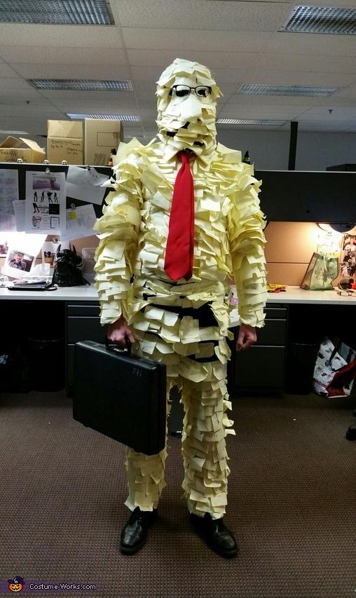 Post-It Man Costume