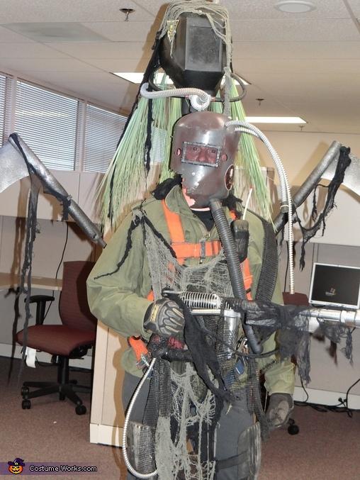 Post Apocalyptic Cyborg Homemade Costume