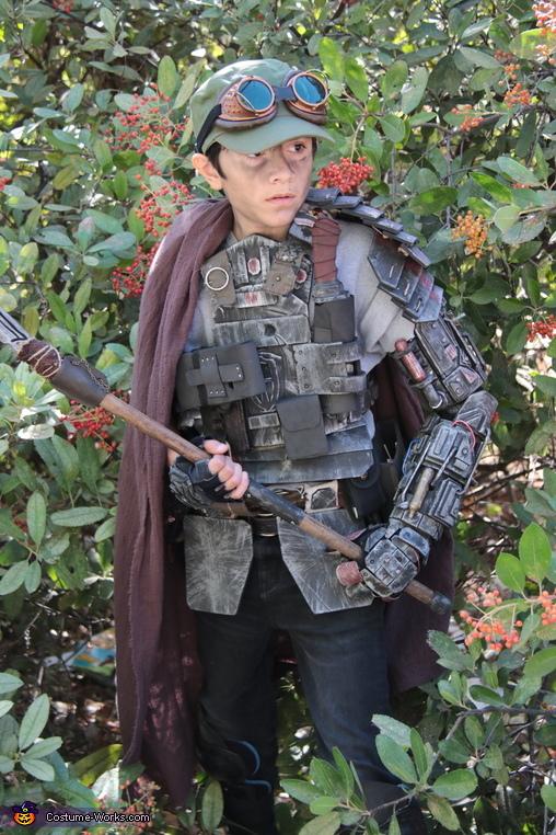 Post Apocalyptic Survivor Homemade Costume