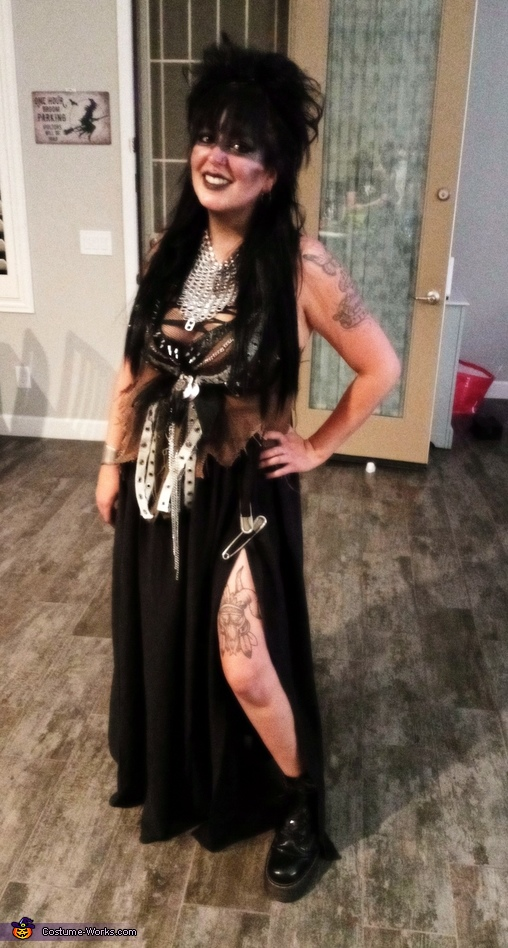 Teresa, Post Apocalyptic Wasteland Warriors Costume