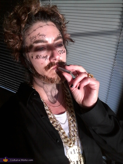After, Post Malone Costume