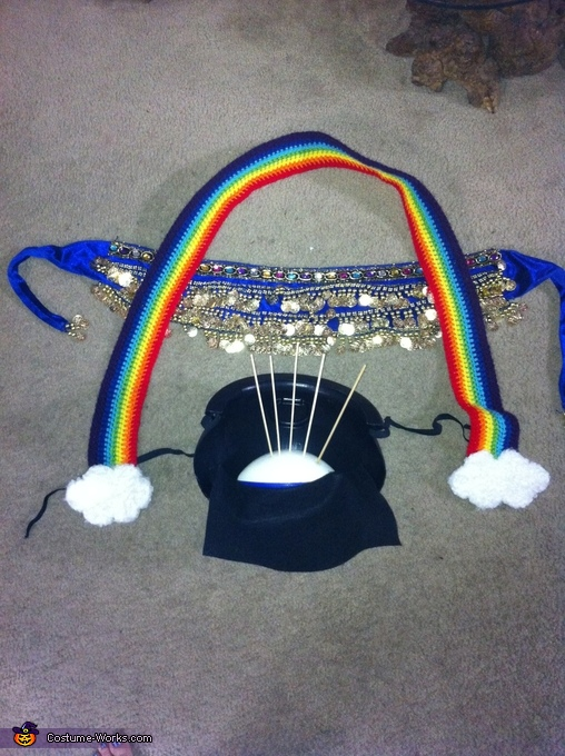 Pot o' Gold Deconstructed, Pot o' Gold at the End of the Rainbow Maternity Costume