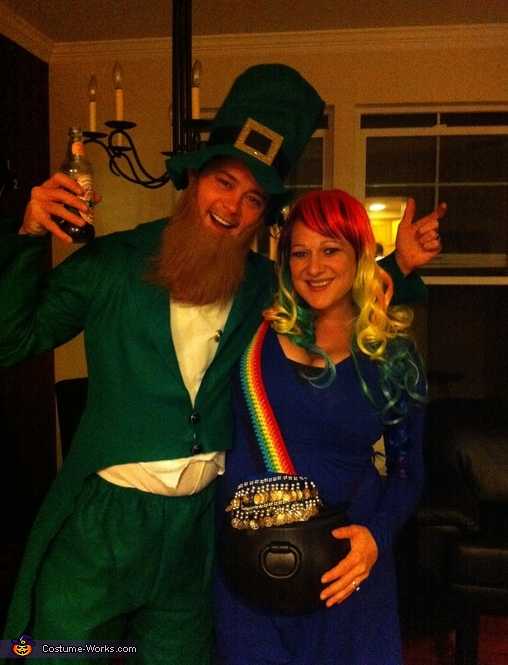 Pot o' Gold at the End of the Rainbow Maternity Costume