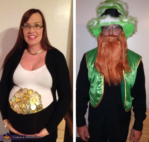 The Pot of Gold and Lucky Leprechaun Costume  sc 1 st  Costume Works & Pot of Gold and Lucky Leprechaun Costume