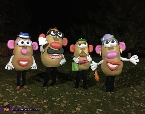 Mr. Potato Head Family Costume