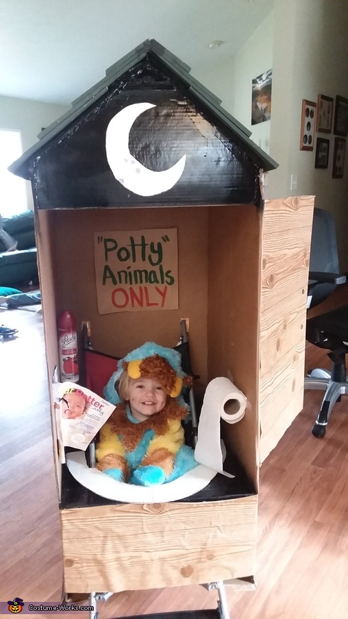 Potty Animal Costume