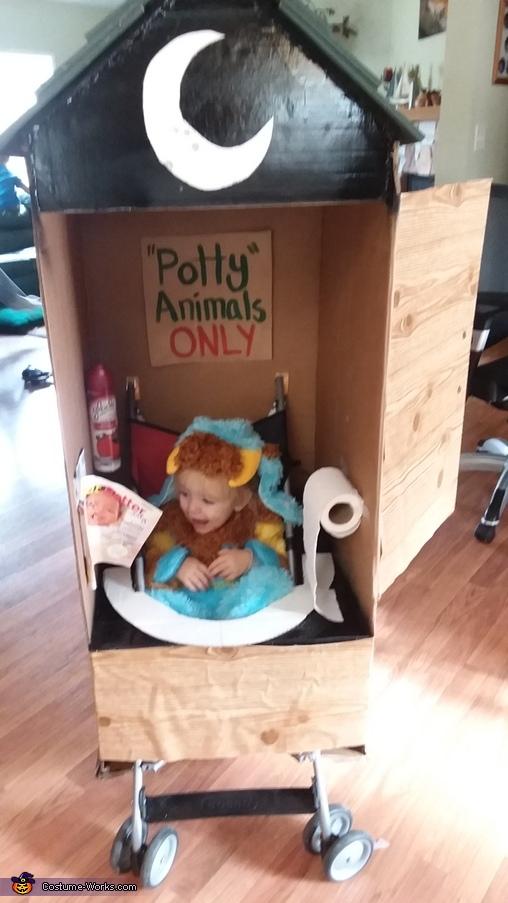 Potty Animal Homemade Costume