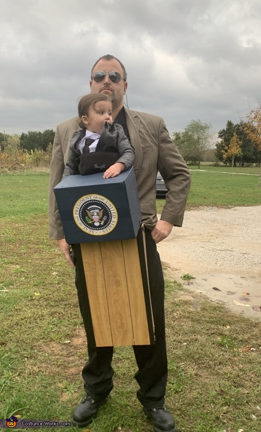 POTUS and Secret Service Costume