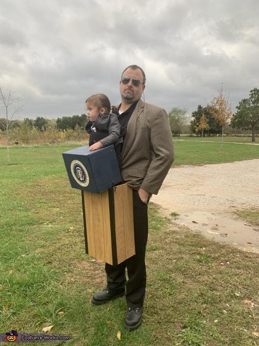 POTUS and Secret Service Homemade Costume