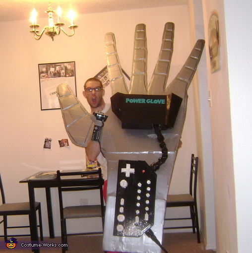 Power Glove Homemade Costume