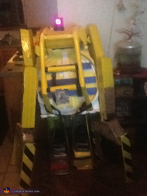 all put together, Power Loader Costume