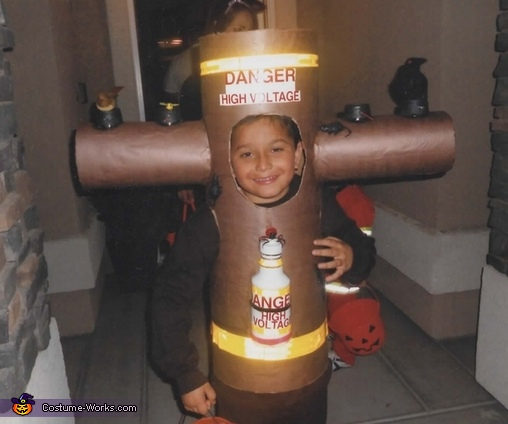 Power Pole Costume