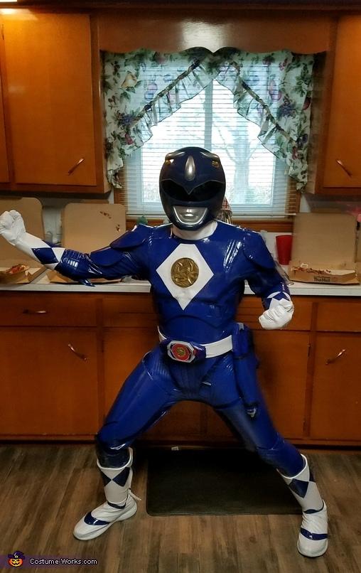 Power Ranger Homemade Costume