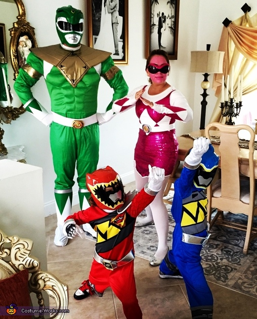 Power Rangers Costume