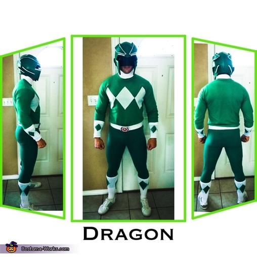 Green Power Ranger, DIY Power Ranger Costumes for the Whole Family!