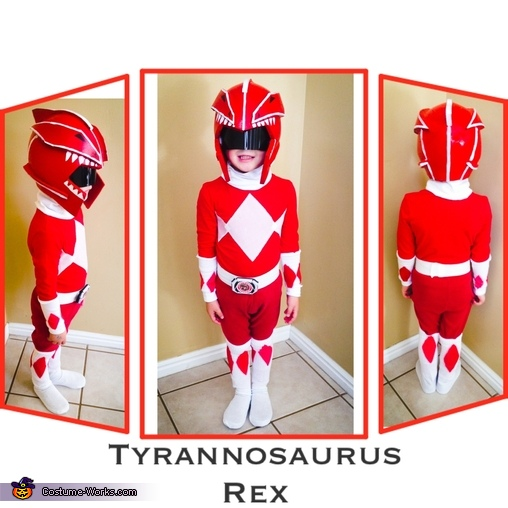 Red Power Ranger, DIY Power Ranger Costumes for the Whole Family!