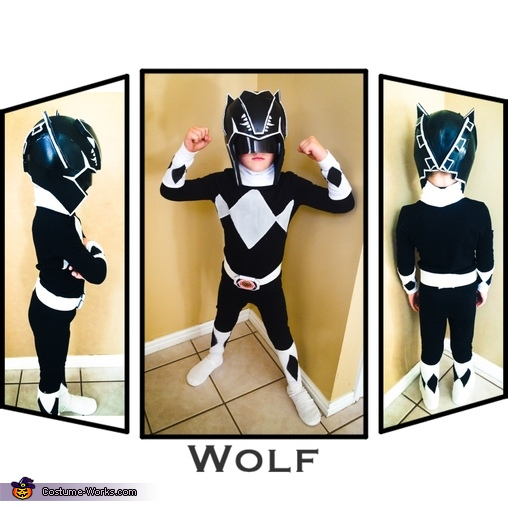 Black Power Ranger, DIY Power Ranger Costumes for the Whole Family!