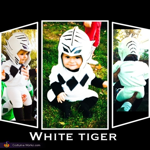 White Power Ranger, DIY Power Ranger Costumes for the Whole Family!