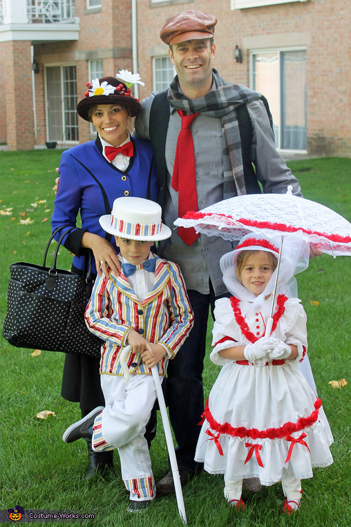 Practically Perfect in Every Way! Family Costume