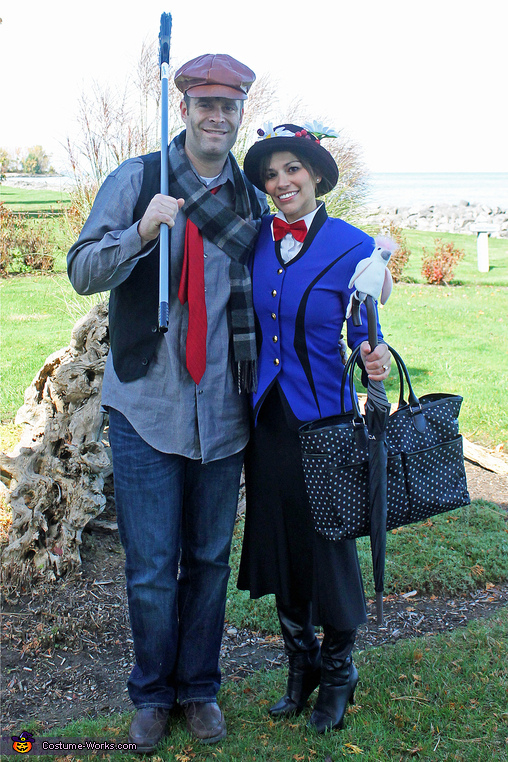 'Reality' Mary Poppins & Bert, Practically Perfect in Every Way! Family Costume