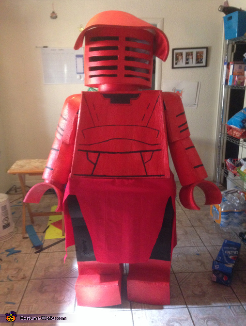 Praetorian Guard Lego Man Costume