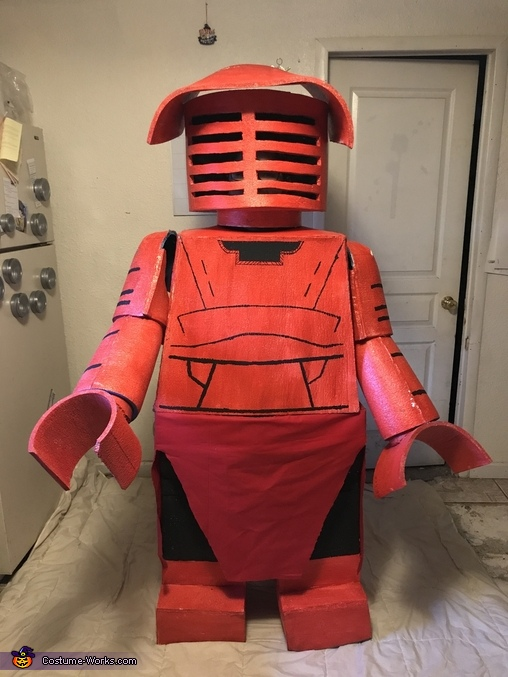 Praetorian Guard Lego Man Homemade Costume