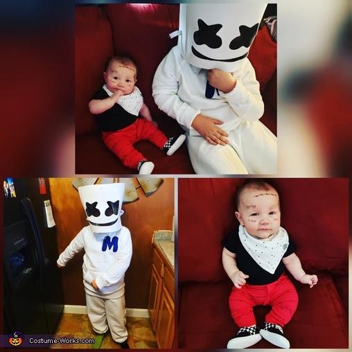 Pre-Malone & Marshmello Homemade Costume