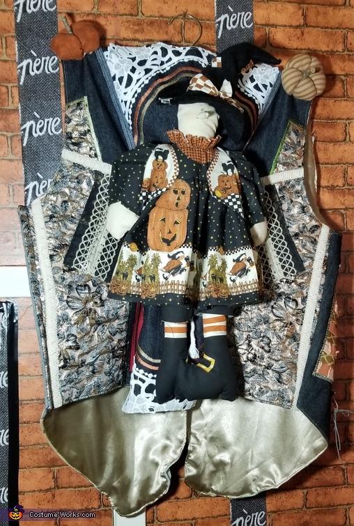 back vest, Père Scarecrow Costume
