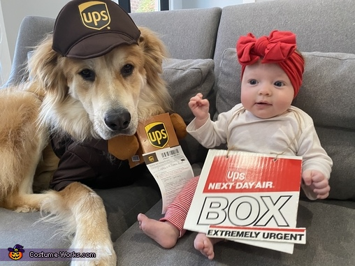 Precious Package and Her Delivery Boy Costume