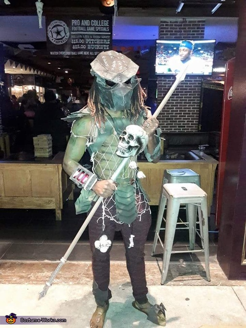 DIY Predator Costume for Men