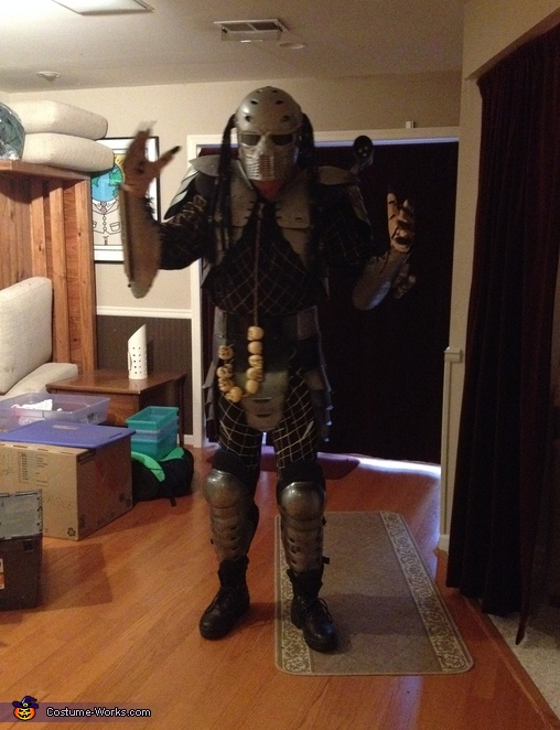 WHAT UP, Predator Costume