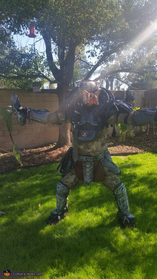 Ready for battle, Predator Costume