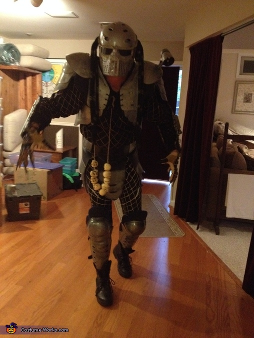 COMING FOR YOU, Predator Costume