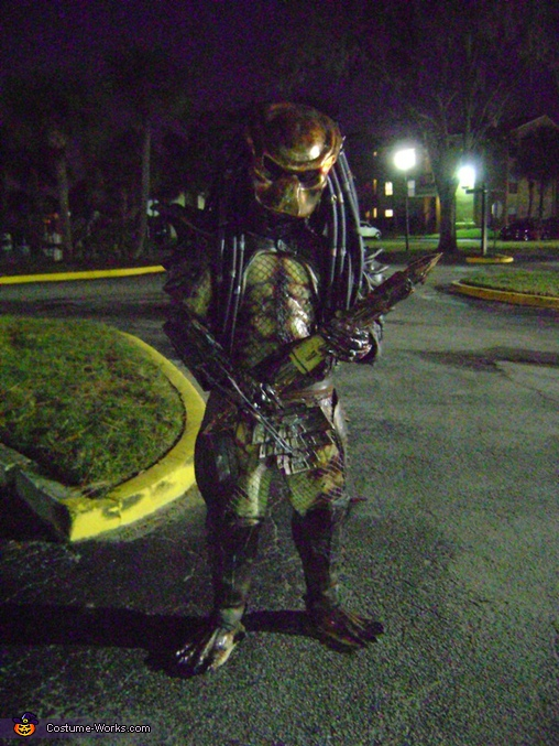 Predator in Da Neighborhood, Predator Movie Costume