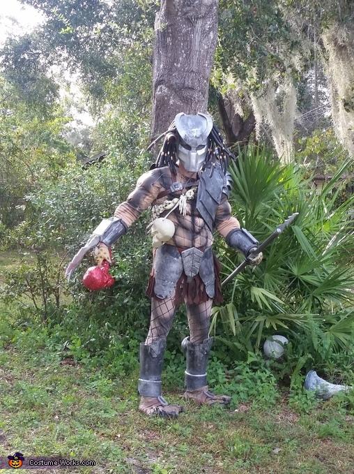 Predator Jungle Hunter Homemade Costume