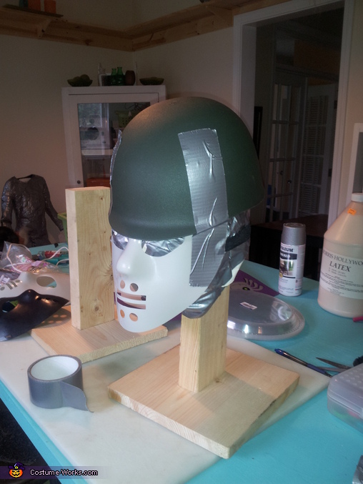 starting point for the masks / helmets, Predators Costume