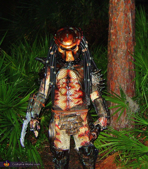 Predator's Woods, Predator Movie Costume
