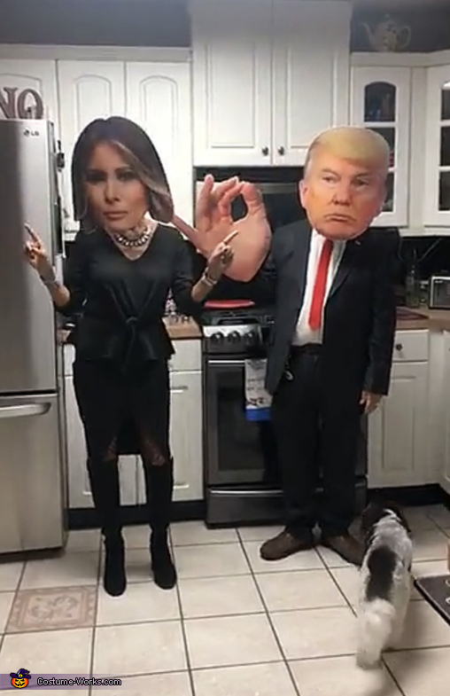President Trump and Melania Costume