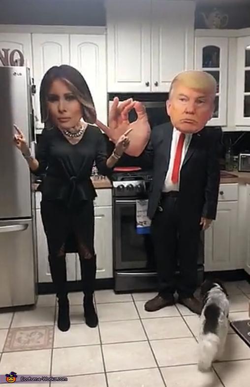 President Trump and Melania Costume