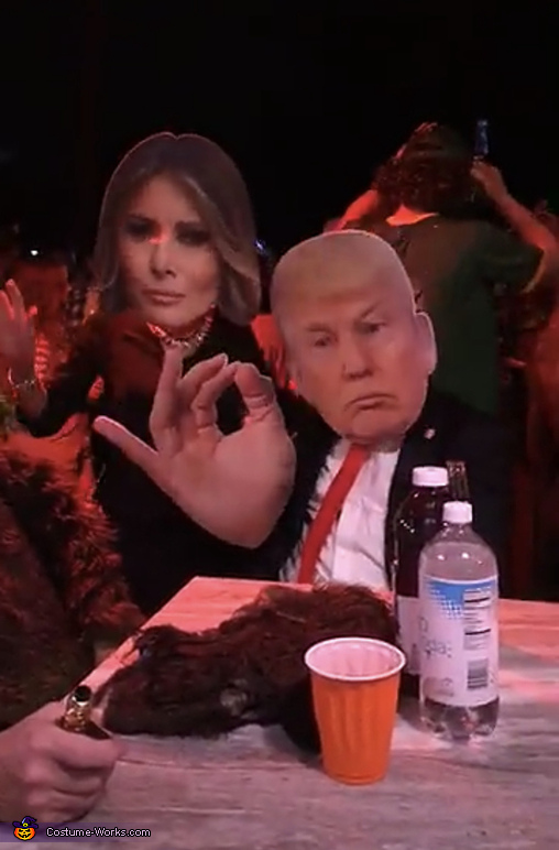Bobble Hedz, President Trump and Melania Costume