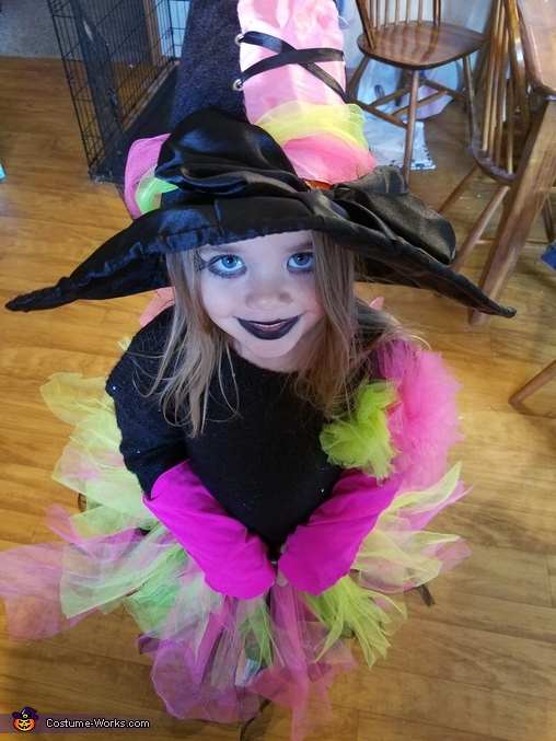 Prettiest Witch Homemade Costume