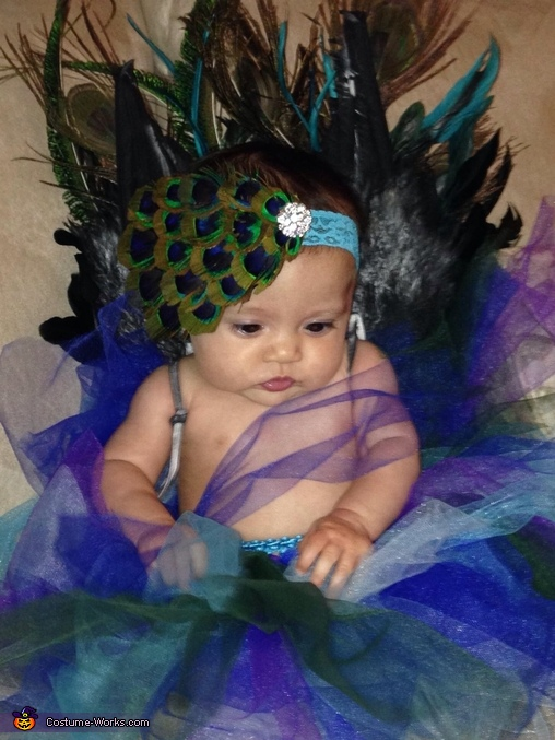 Pretty as a Peacock Baby Costume