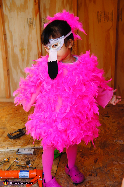 Pretty in Pink Flamingo Costume
