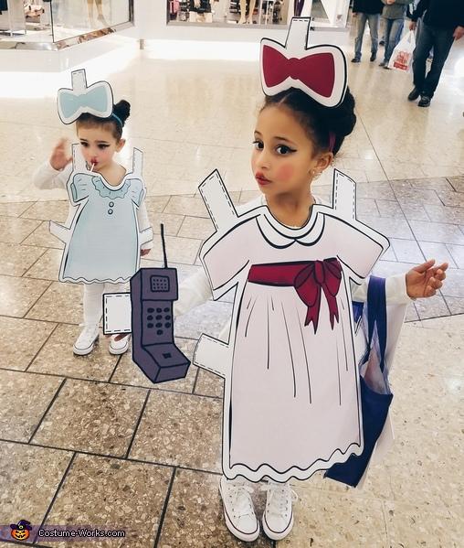 Pretty Paper Dolls Costume