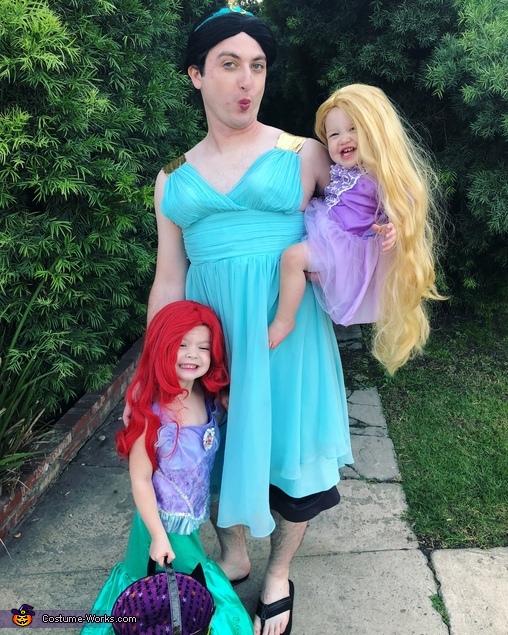 Pretty Princesses Family Costume