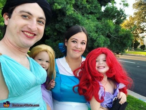 Pretty Princesses Homemade Costume