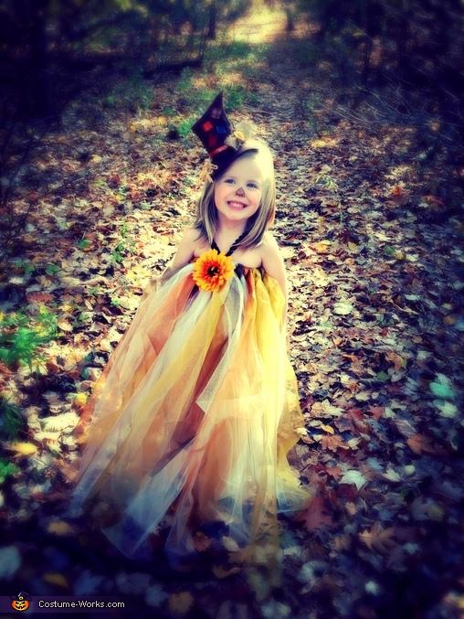 Pretty Scarecrow Homemade Costume
